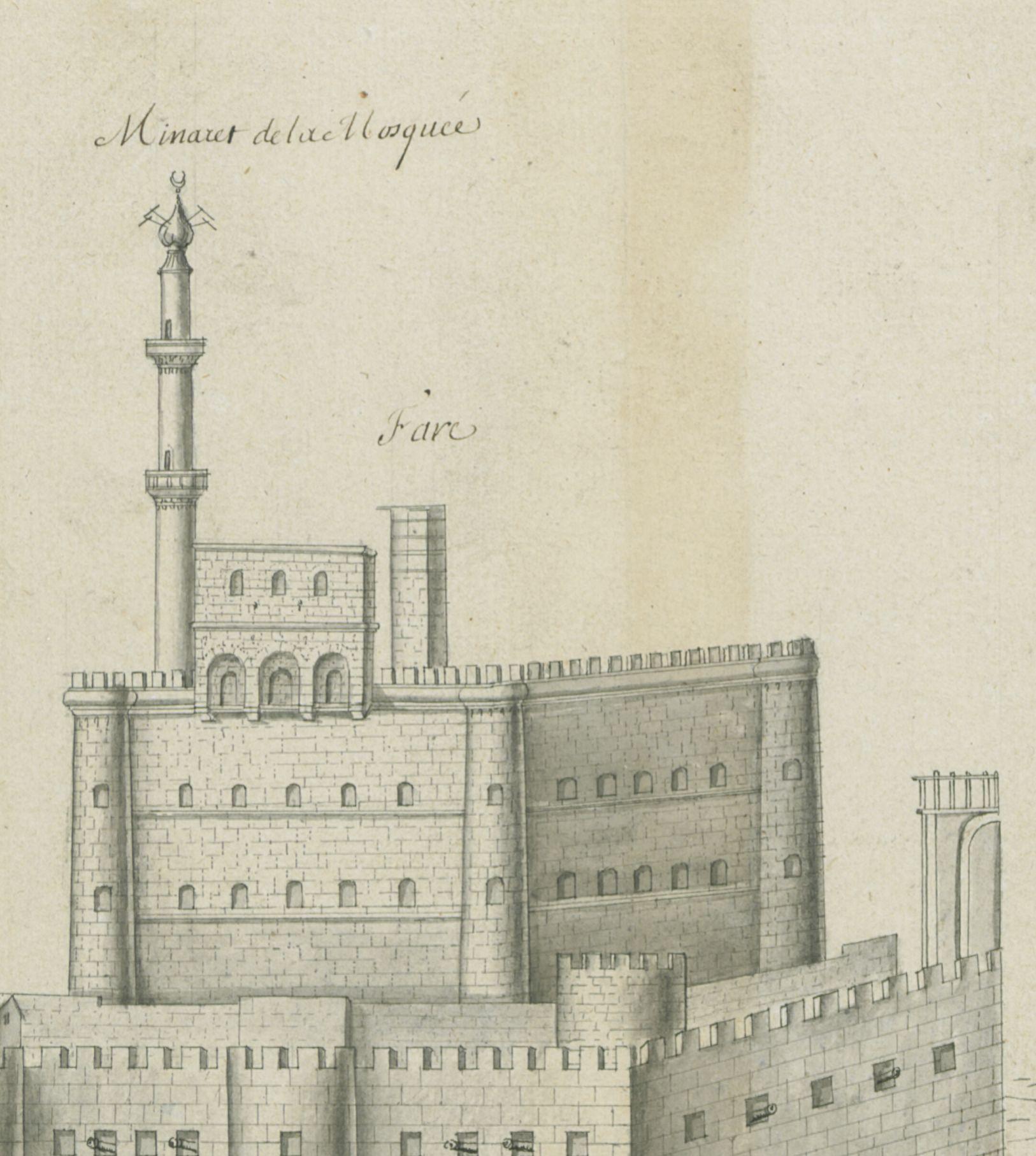 Elévation_du_château_du_Fare_[...]Gravier_Étienne_btv1b55000401n_1
